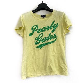 パーリーゲイツ(PEARLY GATES)のパーリーゲイツ 半袖Tシャツ サイズ1 S(Tシャツ(半袖/袖なし))