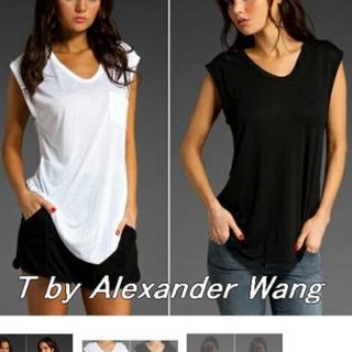 アレキサンダーワン(Alexander Wang)のT by alexander wang アレキサンダーワン Tシャツ2点セット(Tシャツ(半袖/袖なし))