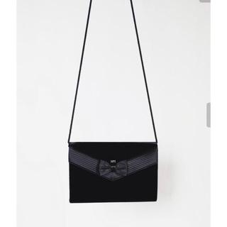 ハナエモリ(HANAE MORI)のHanae Mori Velvet Sling Bag(ショルダーバッグ)