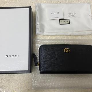グッチ(Gucci)のGUCCI プチマーモント ジッパーウォレット 美品(長財布)