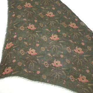 ラルフローレン(Ralph Lauren)のラルフローレン スカーフ美品  花柄(バンダナ/スカーフ)
