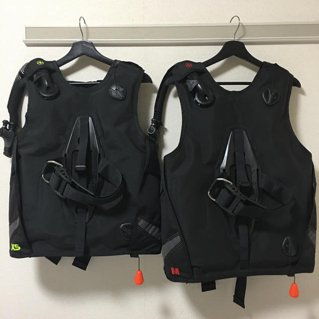 Aqua Lung(アクアラング)のオーバーホール済 AQUALUNG ダイビング  BC ウェーブ XS/Mセット スポーツ/アウトドアのスポーツ/アウトドア その他(マリン/スイミング)の商品写真