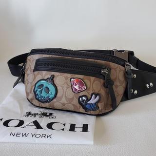 コーチ(COACH)の限定COACH×Disney_ウエストバック_コーチディズニー(ウエストポーチ)
