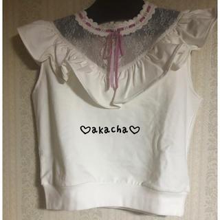 リズリサ(LIZ LISA)の♡Liz LISA トップス♡(カットソー(半袖/袖なし))