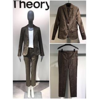 theory -  新品 theory 19SS 麻TEXTURED LINEN パンツスーツ 4