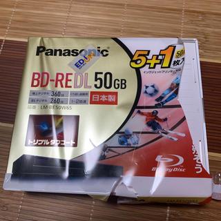 パナソニック(Panasonic)の新品、開封品♡送料無料^^ パナソニックブルーレイディスク50GB 6枚セット(その他)