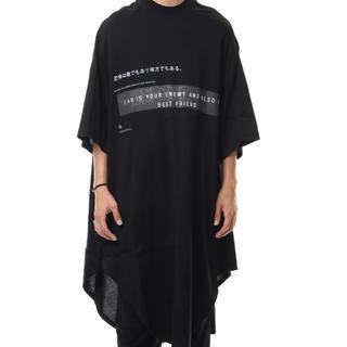 ユリウス(JULIUS)の着画あり!モード NILøS ニルズ メッセージプリント BIG T-SHIRT(Tシャツ/カットソー(半袖/袖なし))