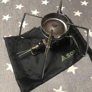 シンフジパートナー(新富士バーナー)のSOTO ST-310 風防、アシストレバー付き!(ストーブ/コンロ)