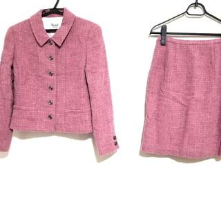 ルネ(René)のルネ スカートスーツ サイズ36 S - ピンク(スーツ)