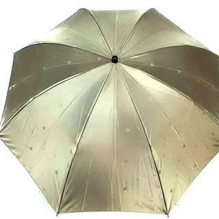 マリークワント(MARY QUANT)のマリークワント 折りたたみ傘 グレーカーキ(傘)