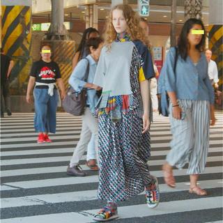 サカイ(sacai)の新品未使用kolor 2020ssスカート(ロングスカート)