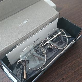 アヤメ(Ayame)の未使用品 BLANC ボストン 眼鏡 サングラス blanc.(サングラス/メガネ)