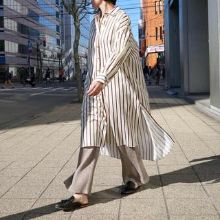フィーニー(PHEENY)の【Pheeny】Cupro cotton viyella shirt dress(シャツ/ブラウス(長袖/七分))