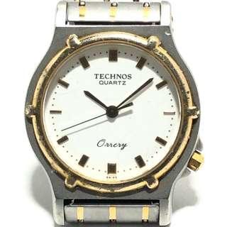 テクノス(TECHNOS)のテクノス 腕時計 オーラリ 111070.31 白(その他)