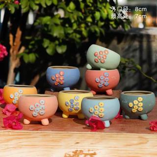 多肉植物 陶器鉢(プランター)