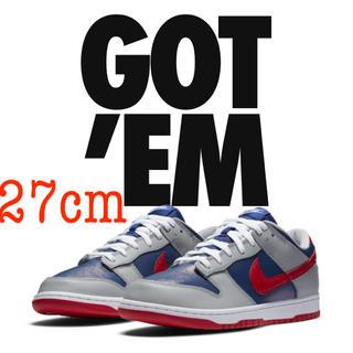 ナイキ(NIKE)の送料無料!Nike Dunk Low Samba 27cm(スニーカー)