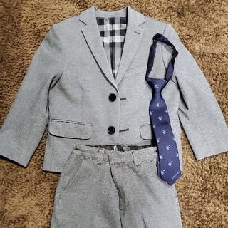 バーバリー(BURBERRY)の☆dango様専用☆BURBERRY スーツ 110 120(ドレス/フォーマル)