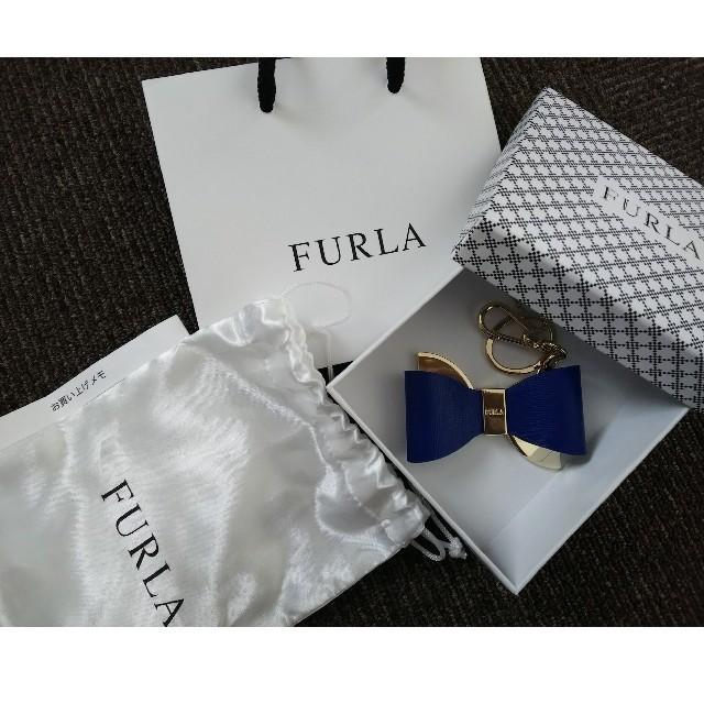 Furla(フルラ)のFURLA リボン型キーチャーム レディースのアクセサリー(チャーム)の商品写真