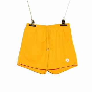 ピースマイナスワン(PEACEMINUSONE)のPMO DAISY SHORT PANTS #1 YELLOW(ショートパンツ)