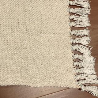 インド綿 マルチカバー ソファ ラグ 190cm×190cm(ソファカバー)