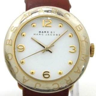 マークバイマークジェイコブス(MARC BY MARC JACOBS)のマークジェイコブス 腕時計 - MBM8574 白(腕時計)