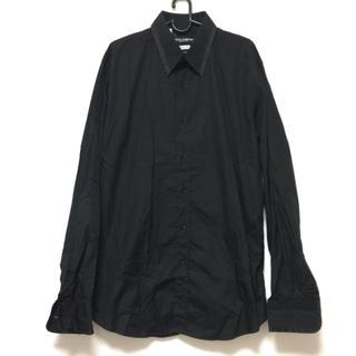 ドルチェアンドガッバーナ(DOLCE&GABBANA)のドルチェアンドガッバーナ 長袖シャツ 黒(シャツ)
