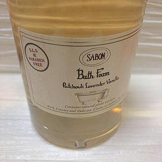 サボン(SABON)のバスフォーム 375ml パチュリラベンダーバニラ(入浴剤/バスソルト)