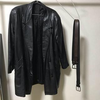 ジョンローレンスサリバン(JOHN LAWRENCE SULLIVAN)のレザージャケット vintage 古着 (レザージャケット)