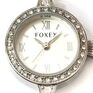 フォクシー(FOXEY)のフォクシー 腕時計 レディース シルバー(腕時計)