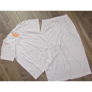 アモスタイル(AMO'S STYLE)の新品AMO'S STYLEパジャマ上下セットMルームウェア綿100%(パジャマ)
