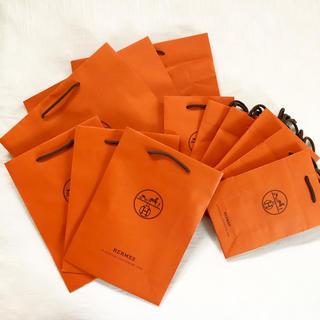 エルメス(Hermes)のHERMES ショッパー  ショップ袋 紙袋 13枚 エルメス チャーム(ショップ袋)