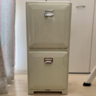 ウニコ(unico)の【お値引きしました】ダルトン ゴミ箱 二段(リビング収納)