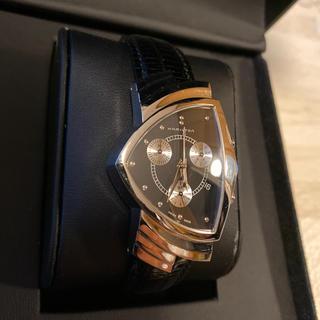 ベンチュラ(VENTURA)の人気品! HAMILTON ベンチュラ クロノグラフ H244121 エルビス(腕時計(アナログ))