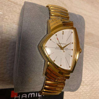 ベンチュラ(VENTURA)の希少品! HAMILTON ベンチュラ H243010 エルビスプレスリー 金(腕時計(アナログ))