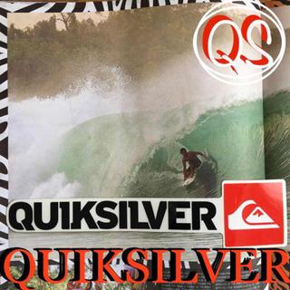 クイックシルバー(QUIKSILVER)のQUIKSILVERクイックシルバーUS限定 ロゴ ボックスicon ステッカー(サーフィン)