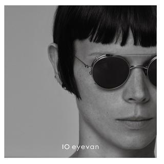 アヤメ(Ayame)の10 eyevan  NO.3 45 1S サングラスクリップ付き(サングラス/メガネ)