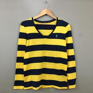 ラルフローレン(Ralph Lauren)のラルフローレン RalphLauren ボーダー Vネック カットソー ロンT (Tシャツ(長袖/七分))