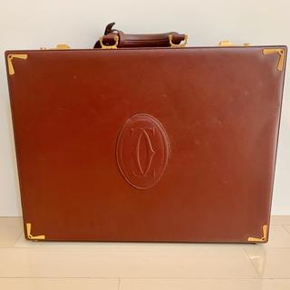 カルティエ(Cartier)のカルティエ アタッシュケース(ビジネスバッグ)