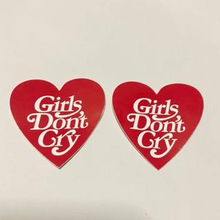 ジーディーシー(GDC)のGirls Don't Cry ステッカー 二枚セット(その他)