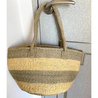 ロンハーマン(Ron Herman)の【未使用】Ginger beach inn 逗子 Sisal Basket (かごバッグ/ストローバッグ)