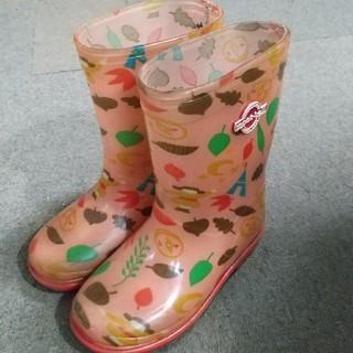 モンベル(mont bell)のmont-bell モンベル 17cmサイズ なか靴 長靴(長靴/レインシューズ)