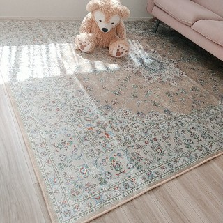 ウニコ(unico)の北欧 韓国 ペルシャ風絨毯 ラグ ヨーロピアン 絨毯 北欧インテリア カーペット(ラグ)