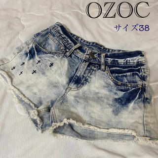 オゾック(OZOC)のショートパンツ デニム(ショートパンツ)