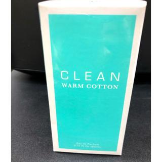 クリーン(CLEAN)の新品 未開封 クリーン ウォームコットン オードパルファム 60ml(香水(女性用))