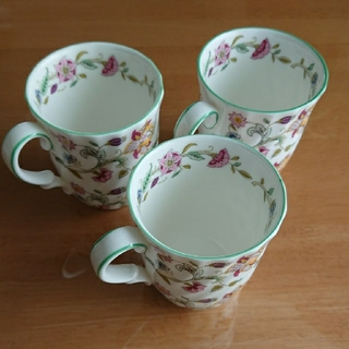 ミントン(MINTON)のミントンマグカップ3個(グラス/カップ)