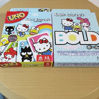 サンリオ(サンリオ)のウノ UNO ボールド BOLD サンリオ カードゲーム (トランプ/UNO)