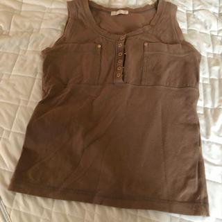 ザジ(ZAZIE)のノースリーブ(Tシャツ(半袖/袖なし))