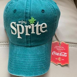 コカコーラ(コカ・コーラ)の新品 スプライト キャップ 帽子  55〜59cmくらい グリーン (キャップ)
