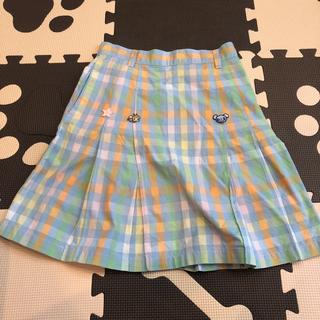ポンポネット(pom ponette)のポンポネット スカート ギンガムチェック 女の子 140(スカート)