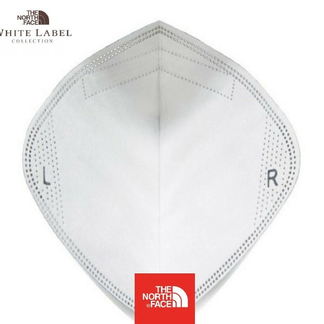 THE NORTH FACE(ザノースフェイス)のノースフェイスホワイトレーベル マスクフィルター(取り替え用) メンズのファッション小物(その他)の商品写真